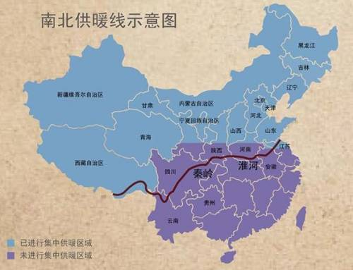 The Great Divide between Southern and Northern China