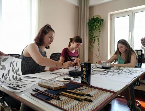 Culture Event for Edu Aupairs in China – Chinese Painting Experience