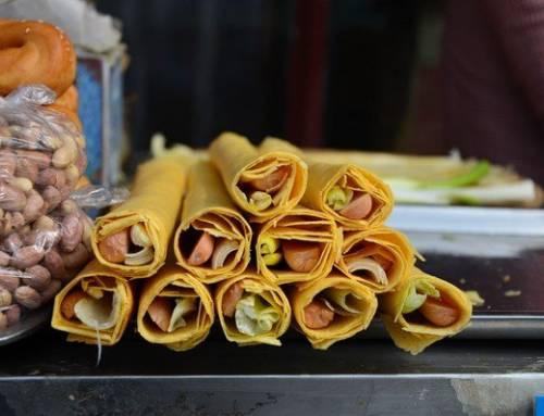 """Learning Mandarin-""""Pancake Village"""" in Mount Tai Sells 10,000 Kg Every Day(HSK4)"""